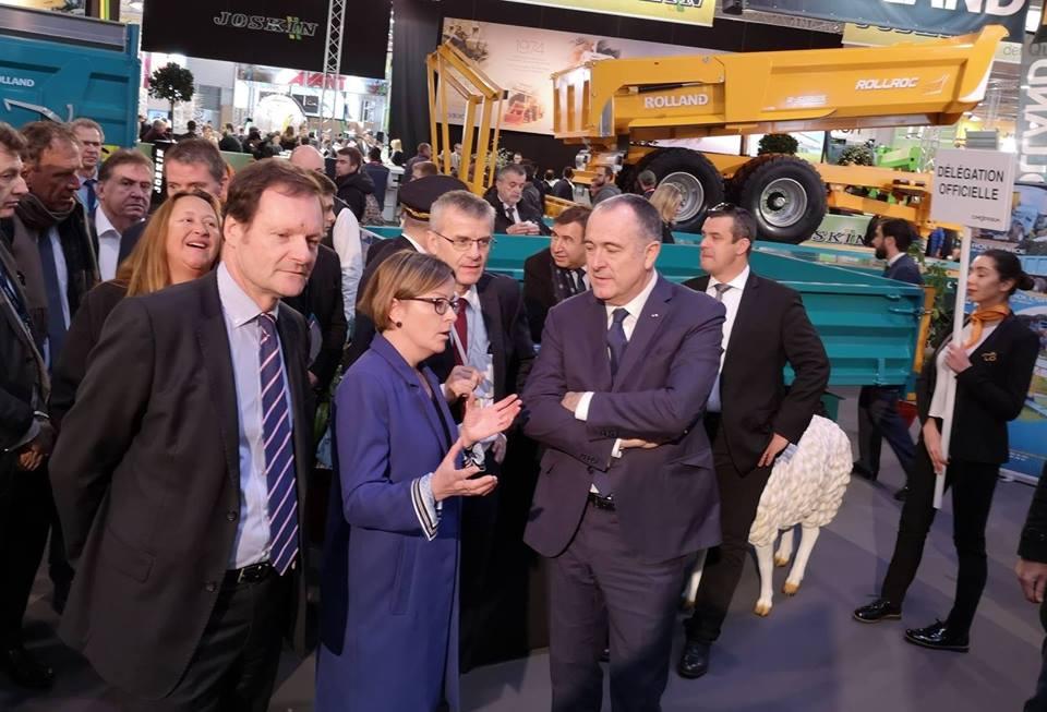Didier Guilllaume, Ministro Francés  de la agricultura