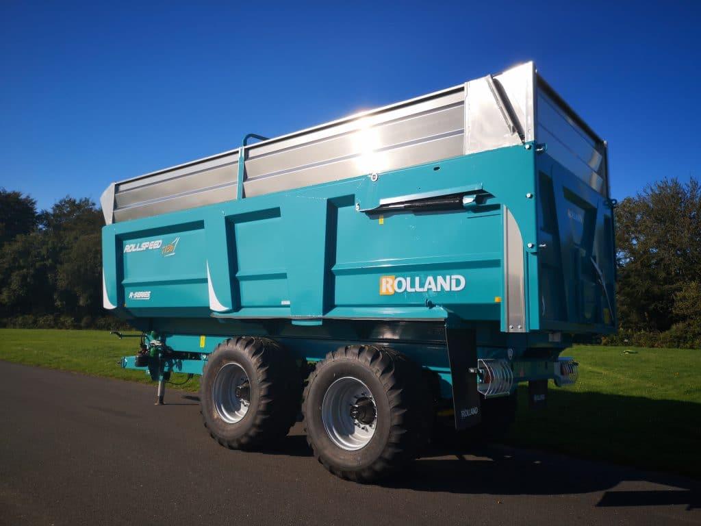 Rollspeed 7845 avec de hauteur de caisse 1m80 + rehausses tout aluminium 0.70