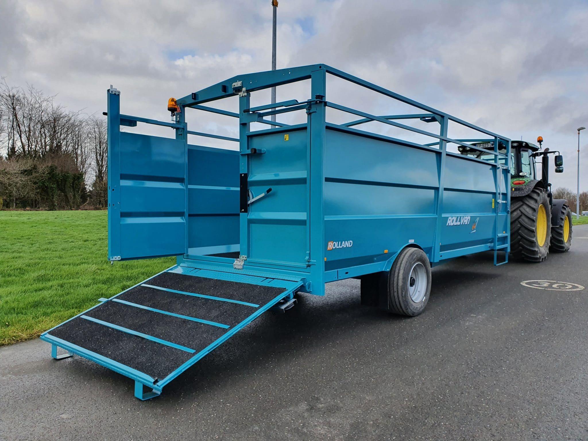 Rollvan 64 – rampa de carga
